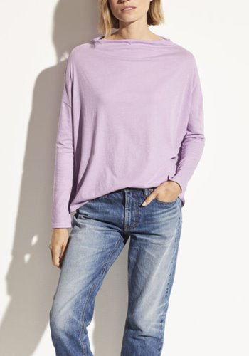 VINCE Pima Cotton Top