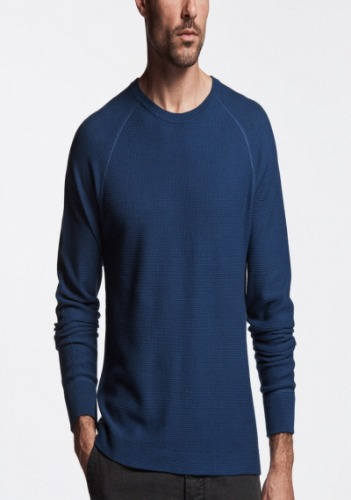 James Perse Men Crew Sweater