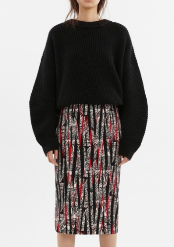 BL Printed Skirt