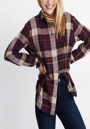 Madewell Plaid Shirt(limited sale)