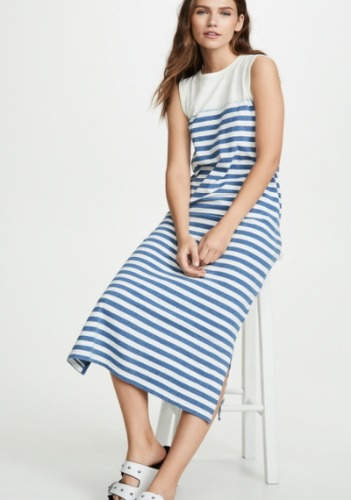 Current Elliott Stripe dress