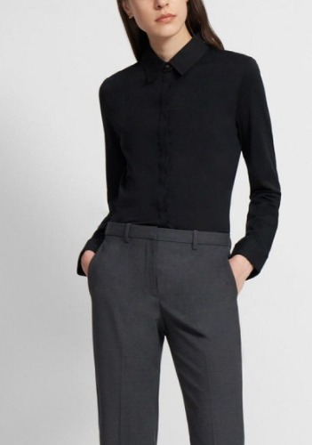 Theory Organic Fitted Shirt