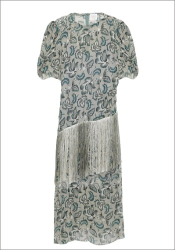 ANNA SUI Fringed Dress  **Final sale ,,,*
