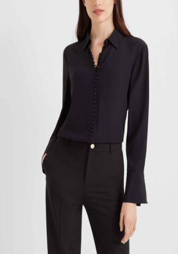 Club Monaco Silk Shirt