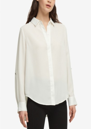 DKNY Sleek Blouse