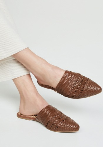 Sam Edelman Leather Mule