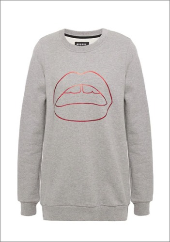 MARKUS LUPFER cotton fleece sweatshirt