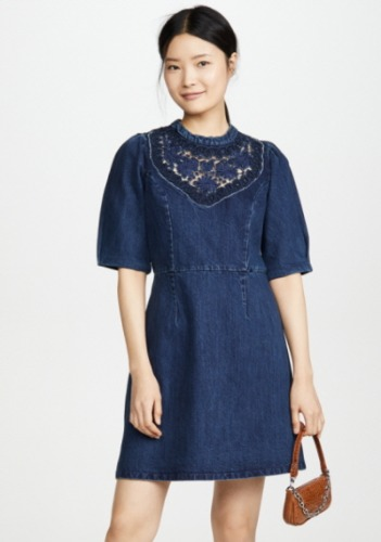 Sea Denim Dress