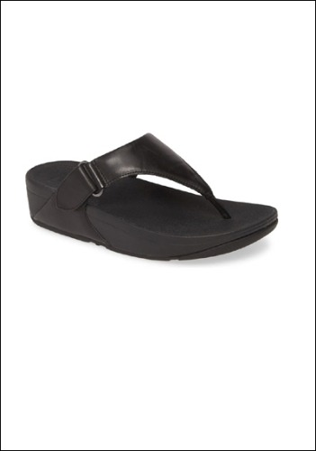 Fitflop Leather Slides