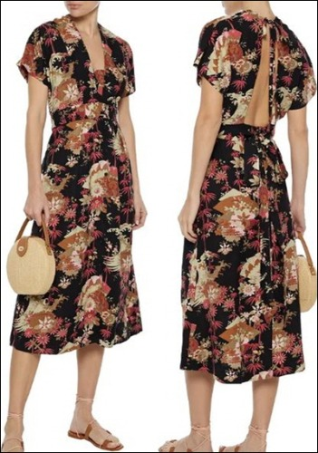 Current Elliott Printed Dress