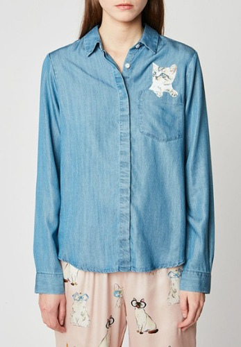 Paul & Joe Sister Denim Blouse *