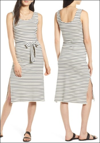 Rails Striped Dress