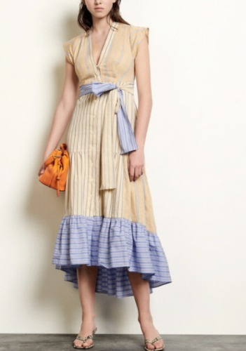 Sandro Belted Dress
