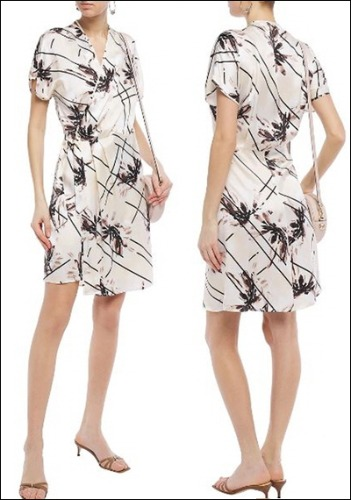 Equipment Printed Dress