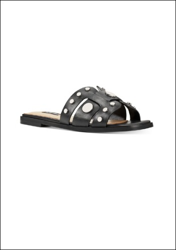 Nine West Leather Slides