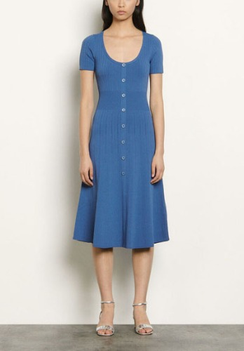 SANDRO Knit Dress