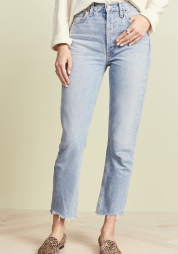 AGOLDE High Rise Jeans