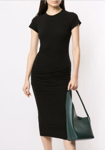 James Perse Fitted Dress