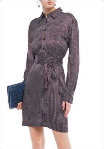 Equipment Belted Dress