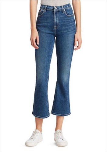 7 For All Mankind High Rise Jeans
