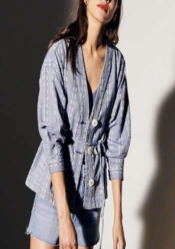 Madewell Belted Jacket