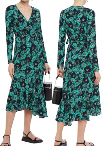 MARKUS LUPFER Printed Dress