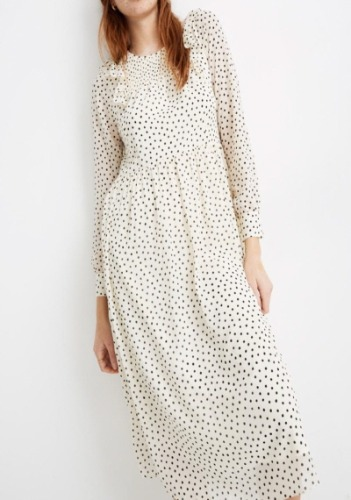Madewell Polka Dress