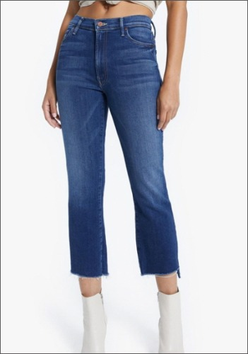 Mother Mid Rise Jeans