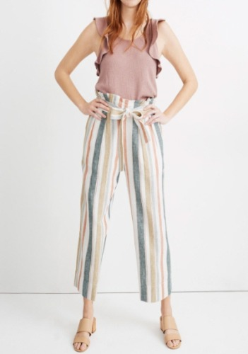 Madewell Striped Pants