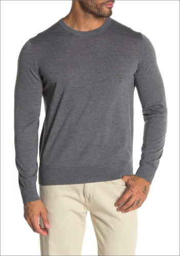 Theory Men Wool Blend Sweater