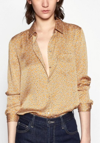Equipment Printed Blouse