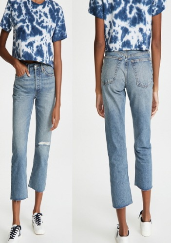 RE/DONE Straight Jeans
