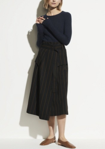Vince Striped Skirt
