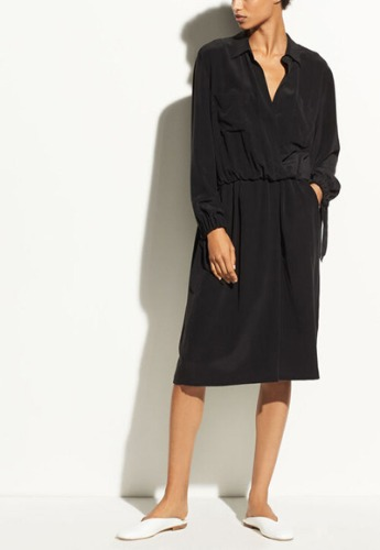 VINCE Silk Shirtdress **Final sale