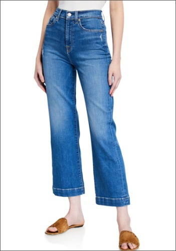 7 for all mankind Wide Jeans