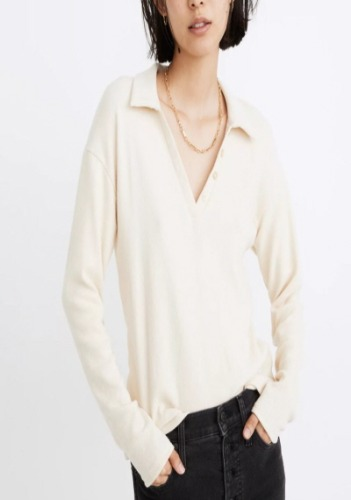 Madewell Polo Top