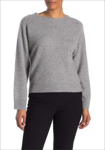 Vince Cashmere Blend Sweater
