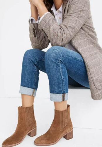 Madewell Chelsea Boot