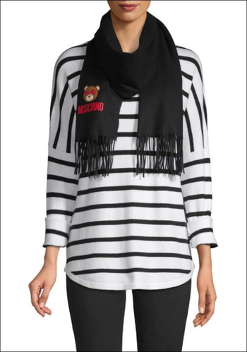 Moschino Wool Scarf (limited sale)