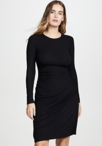 Theory Ruched Dress