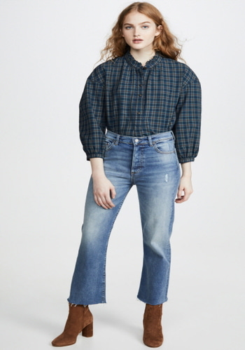 Madewell  Ruffle Shirt (limited sale)