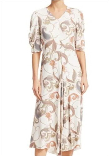See by Chloé Printed Dress