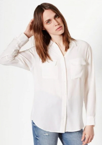 Equipment Slim Signature Blouse   *LIMITED SALE*