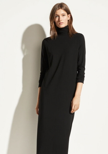 Vince Long  Turtleneck Dress *오늘 오후 3시까지*