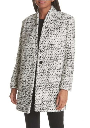 IRO Tweed Coat