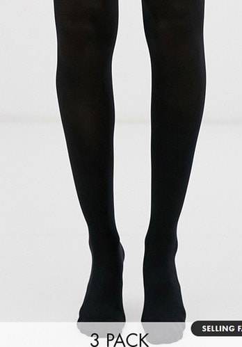 New Look 3 pack tights -70 denier