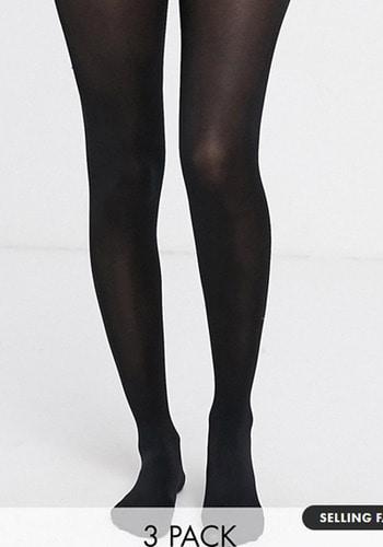 New Look 3 pack tights -100 denier